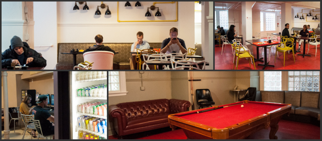 Common areas and social vibes!