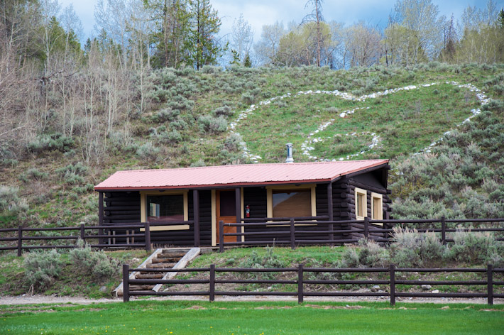Some of the cabins at Heart Six