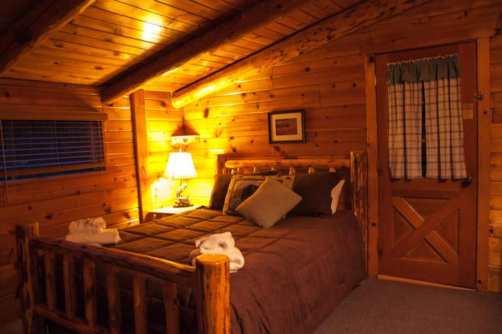 Inside North Bear Cabin