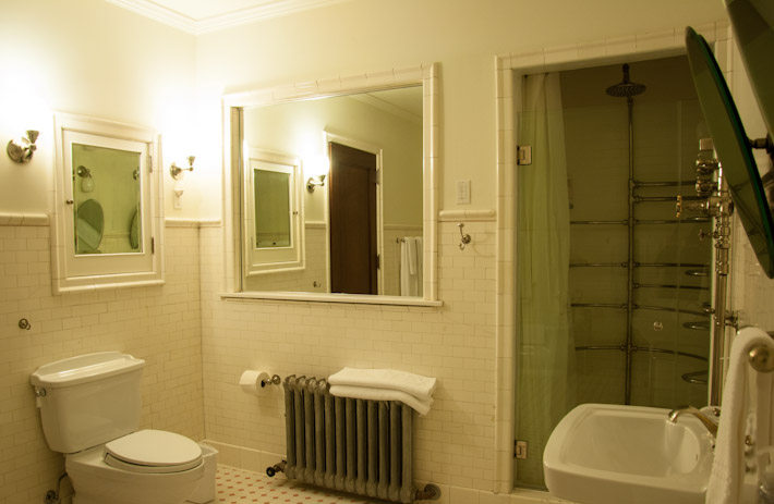Master suite's bathroom
