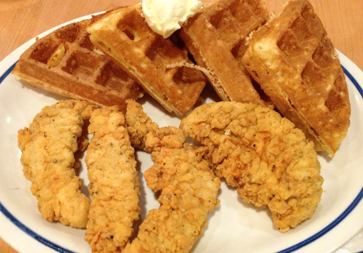 Chicken & Waffles: American soul food