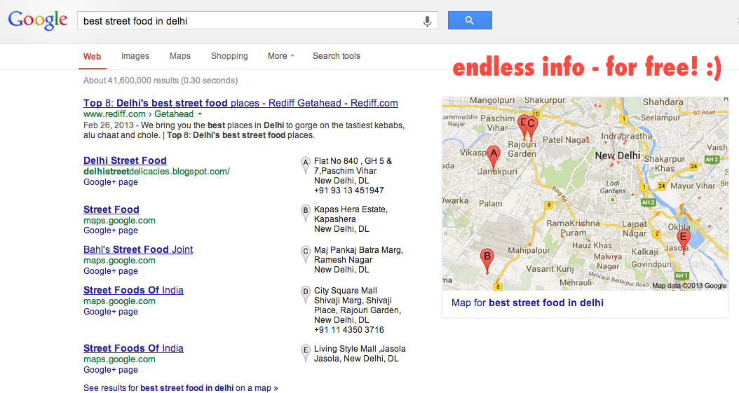 Google: virtually all you need to prep your travels!