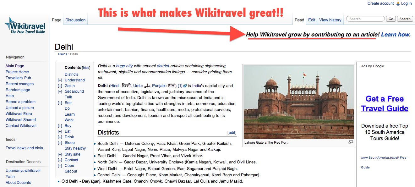 Why Wikitravel is great