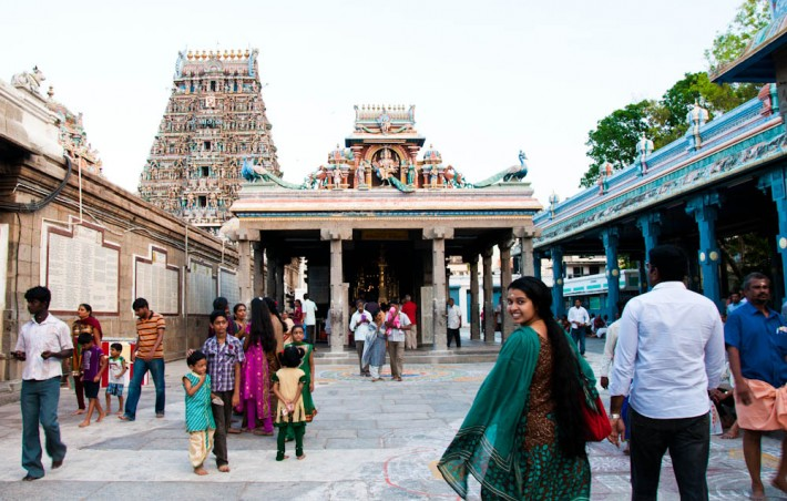 Exploring the temples of Chennai
