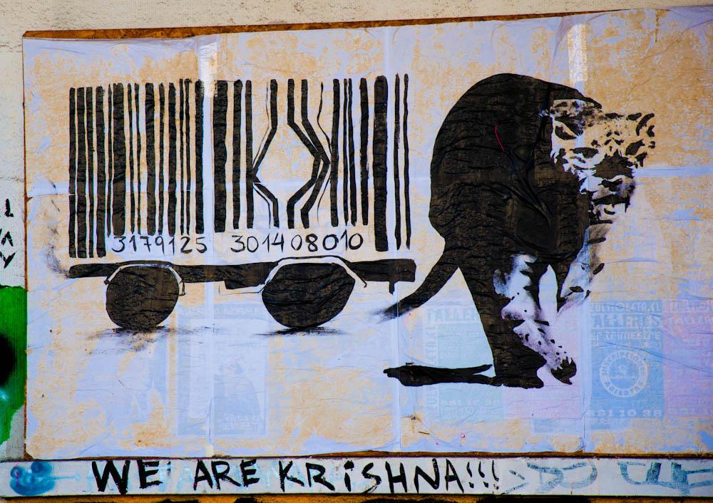 Santiago de Chile: half city, half graffiti wall! part 2/2
